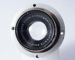 Meyer-Optik Heliopla Doppel Anastigmat f/4.5 75mm EXC vintage lens TESTED NIKON