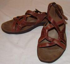 Merrell AGAVE pelle marrone sandali con cinturino 10 Scarpe da donna