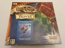 Harry Potter Chamber Of Secrets Trivia Board Game Quidditch Figures Complete