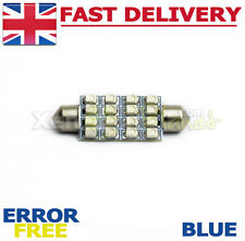 1x 42-44mm Blue 16 SMD LED Interior Festoon Light Bulb VW Transporter T4 T5