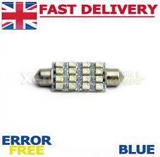 1x 42-44mm Blue 16 SMD LED Interior Festoon Light Bulb VW Transporter T4 T5