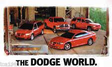 2003 DODGE Brochure/Catalog:VIPER,RAM,DURANGO,STRATUS,NEON,SRT-4,HEMI,CARAVAN,