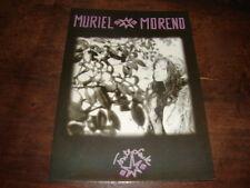 MURIEL MORENO - RARE CARTE POSTALE PROMO TOUTE SEULE !!