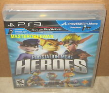 PS3 PlayStation Move Heroes New Sealed (Sony PlayStation 3, 2011)