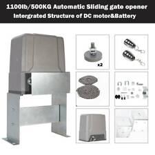Chain-driven Electric Auto Sliding Gate Opener 150W Dc Motor Solar Compatible