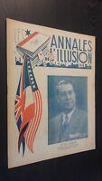 Rivista I Annali Di L Illusione per Lettera N° 12 ABE 1947
