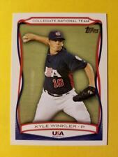 KYLE WINKLER - RC ROOKIE USA #USA-42 TAMPA BAY RAYS 2010 TOPPS USA BASEBALL