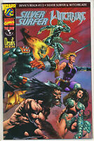 Devils Reign 1/2 Silver Surfer Witchblade Wizard Comics Variant