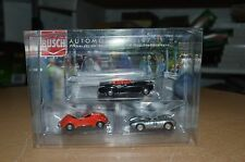 HO Busch 1609 HO Scale THREE 1950s Convertible 1:87 Model Cars NEW IN BOX