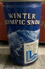1980 Lake Placid Beer Can- AIR SEALED - Winter Olympic Snow - *RARE* *MINT*