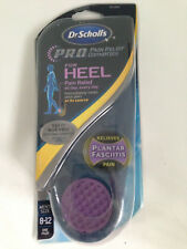 DR. SCHOLL'S PAIN RELIEF ORTHOTICS FOR HEEL MENS SIZE USA 8-12/UK 6-10 PLANTAR