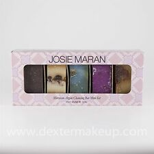 Josie Maran Moroccan Argan Cleansing Bar Set Unscented/Jasmine/Rose/Vanilla/Lav.