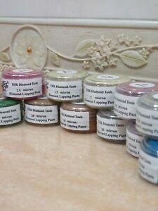 1 bottle THK 20 Gram Diamond polishing lapping paste pastes compound 0.25 - 40