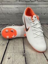 Nike Vapor 12 Academy Fg/Mg Soccer Cleats White / Orange Size 8.5 New Other
