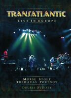 "TRANSATLANTIC ""LIVE IN EUROPE"" DOPPEL DVD NEW!"