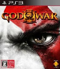 Used PS3  God of War III  SONY PLAYSTATION 3 JAPAN JAPANESE IMPORT