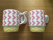 PORTMEIRION TRUE COLORS MUG CUP BLINK PINK TEA COFFEE CUPS QUIRKY