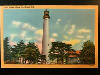 Vintage Postcard>1930-1945>Cape May Light House>Cape May Point>N.J.