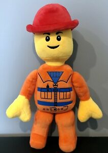 Lego Man Plush 34cm 2013 Construction Worker with movable arms