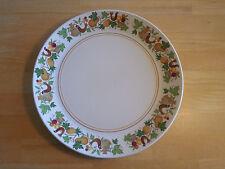 Noritake Progression HOMECOMING 9002 Set of 8 Dinner Plates Brown Gold
