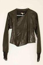 Damir Doma ❊ Women's Biker Leather Jacket  ❊ Black Size 36 Small
