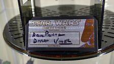 STAR WARS David Prowse (Darth Vader) Signature Plaque