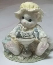 "Calico Kittens ""A Little Bird Told Me You're Tweet"" Enesco 1996 # 203998"