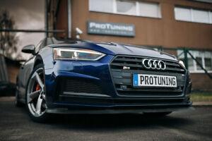 For AUDI A5 / S5 2016 - 2020 Sport Performance front spoiler Lip / Splitter