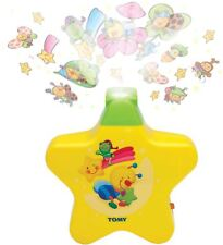 Tomy FIRST YEARS STARLIGHT DREAMSHOW YELLOW Fun Night Light Soothing Tune BN