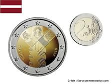 2 Euros Commémorative Lettonie BALTIC 2018 UNC