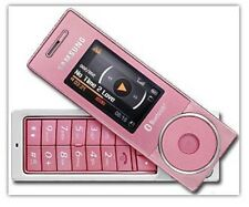 Samsung SGH x830 ROSA (senza SIM-lock) Mini Telecamera cellulare Bluetooth mp3 NUOVO OVP