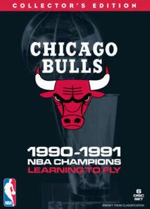 NBA Chicago Bulls 1990-91 Champions(DVD, 2011 6-Disc Set)-COLLECTORS EDITION--R4