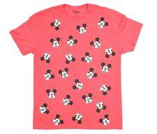 DISNEY Mickey Mouse All Over Print Character Graphic  T-Shirt Size: M