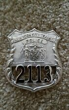 Obsolete Vintage NYC Transit Authority Police Police Officer Badge, Defunct Dept