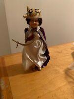 "Vintage Sleeper Doll Queen 7.5"" C5"