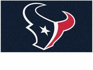 "Fanmats NFL Houston Texans Rookie Mat Area Rug Bath Mat 20""x 30"" Del. 2-4 Days"