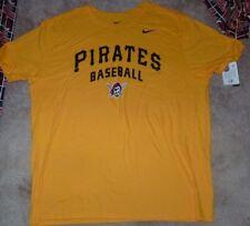 NEW MLB Pittsburgh Pirates Baseball Men 2XL XXL NIKE  T Shirt NEW NWT
