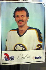 """1980-81 Bell's Market Buffalo Sabres Poster-""""24x36""""- Don Luce/Alan Haworth"""