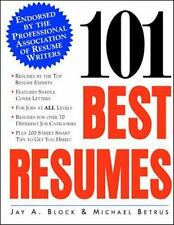 101 Best Resumes: Endorsed by the Professional Association of Resume-ExLibrary