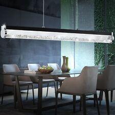 LED 24 W Pendel Leuchte Glas Rohr Kristalle Ess Zimmer Küchen Decken Lampe EEK A