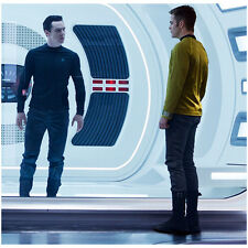 Benedict Cumberbatch as Khan and Chris Pine as Kirk Star Trek 8 x 10 inch photo