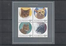 St Vincent & Grenadines 2013 MNH Cat Breeds II 4v M/S Ocicat Shorthair Stamps