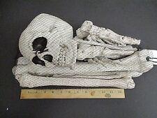 12pc. Bag Of BONES Skull Feet hands Decor Prop Skeleton Plastic Halloween