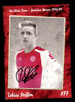 Tobias Steffen Autogrammkarte Rot Weiss Essen 2014-15 Original Sign+A 144953