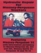 Massey Ferguson Mf 35 50 202 204 Mf35 Mf50 Mf202 40 50 Hydraulic Service Dvd