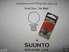 Energizer battery & O-ring kit for Suunto Vyper, Vytec, Gekko, Zoop, HelO2