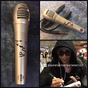 GFA Sexy Singer 2 On TINASHE Signed New Microphone EXACT PROOF T3 COA