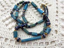Ancient Nueva Cadiz  - 7 L Venetian Chevron beads 22 K solid gold necklace 1500s