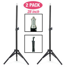 "|2-Pack| 28"" Height Adjustable Photo Studio Photography Tripod Light Stand"