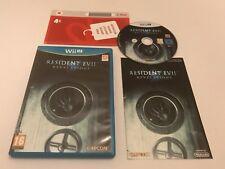 Resident Evil: Revelations Nintendo Wii U Complete PAL Capcom